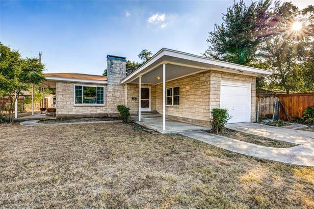 1414 W Illinois Avenue, Dallas, TX 75224 (MLS #14196513) :: Lynn Wilson with Keller Williams DFW/Southlake