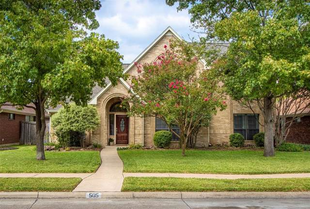 505 Hunters Creek Drive, Mesquite, TX 75150 (MLS #14196584) :: Lynn Wilson with Keller Williams DFW/Southlake