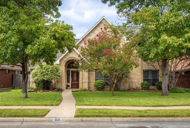 505 Hunters Creek Drive, Mesquite, TX 75150 (MLS #14196584) :: Baldree Home Team