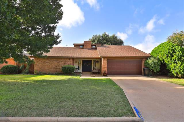 3533 Mistletoe Court, Abilene, TX 79606 (MLS #14196690) :: The Tierny Jordan Network