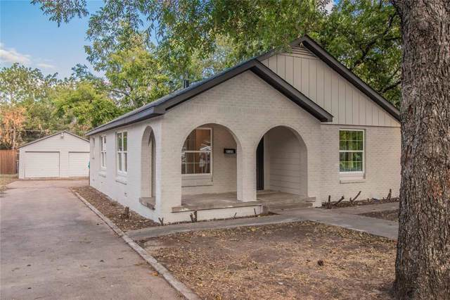 2120 Grace Avenue, Fort Worth, TX 76111 (MLS #14196709) :: RE/MAX Town & Country