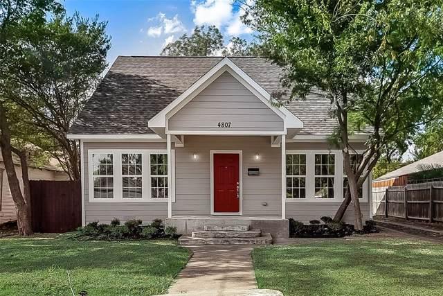 4807 Parry Avenue, Dallas, TX 75223 (MLS #14196888) :: The Star Team | JP & Associates Realtors