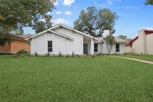 4940 Ashbrook Road, Dallas, TX 75227 (MLS #14196905) :: The Mitchell Group