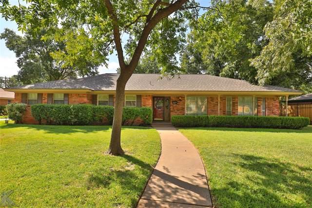 4213 S 20th Street, Abilene, TX 79605 (MLS #14196991) :: Lynn Wilson with Keller Williams DFW/Southlake