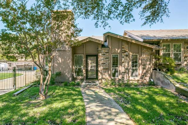 7603 Pebblestone Drive #11, Dallas, TX 75230 (MLS #14196993) :: Robbins Real Estate Group