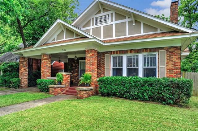 502 W Belden Street, Sherman, TX 75092 (MLS #14197275) :: Lynn Wilson with Keller Williams DFW/Southlake