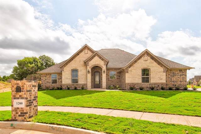 1200 Seay Court, Granbury, TX 76048 (MLS #14197329) :: The Hornburg Real Estate Group