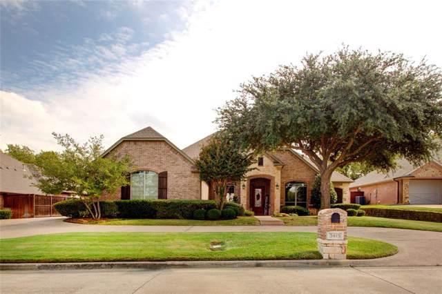 3415 Vista Lake Circle, Mansfield, TX 76063 (MLS #14197578) :: The Tierny Jordan Network