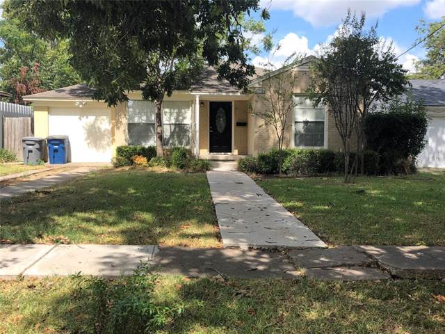 1731 Lansford Avenue, Dallas, TX 75224 (MLS #14198083) :: Lynn Wilson with Keller Williams DFW/Southlake