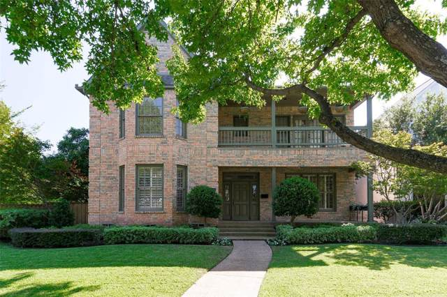 3009 Westminster Avenue, University Park, TX 75205 (MLS #14198232) :: Lynn Wilson with Keller Williams DFW/Southlake