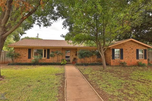 2249 S Elmwood Drive, Abilene, TX 79605 (MLS #14198510) :: Lynn Wilson with Keller Williams DFW/Southlake