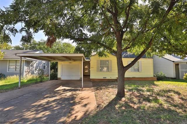 1473 Green Street, Abilene, TX 79603 (MLS #14198511) :: Lynn Wilson with Keller Williams DFW/Southlake