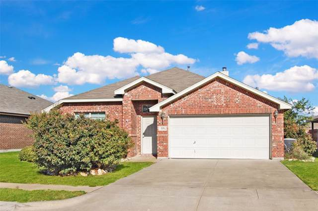 225 Spring Hollow Drive, Saginaw, TX 76131 (MLS #14198659) :: RE/MAX Town & Country
