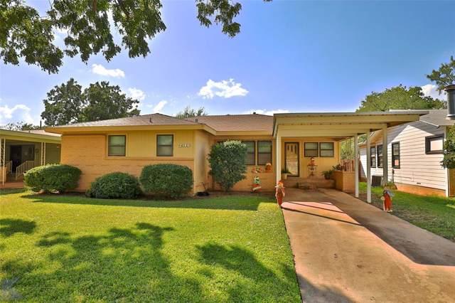 734 Briarwood Street, Abilene, TX 79603 (MLS #14198790) :: Lynn Wilson with Keller Williams DFW/Southlake