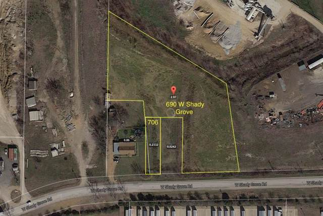 690 W Shady Grove Road, Grand Prairie, TX 75050 (MLS #14198804) :: Trinity Premier Properties