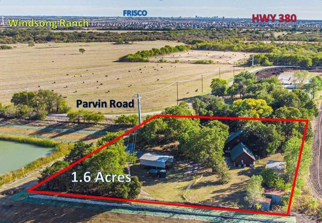 14743 Parvin Road, Prosper, TX 75078 (MLS #14199014) :: RE/MAX Town & Country