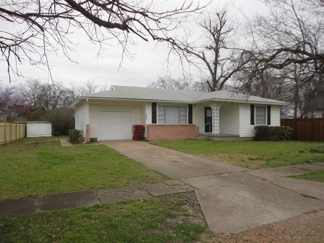 414 W Locust Street, Whitewright, TX 75491 (MLS #14199072) :: The Real Estate Station