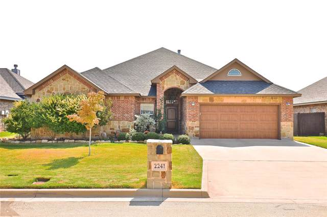 2241 Bunker Hill Drive, Abilene, TX 79601 (MLS #14199102) :: The Chad Smith Team