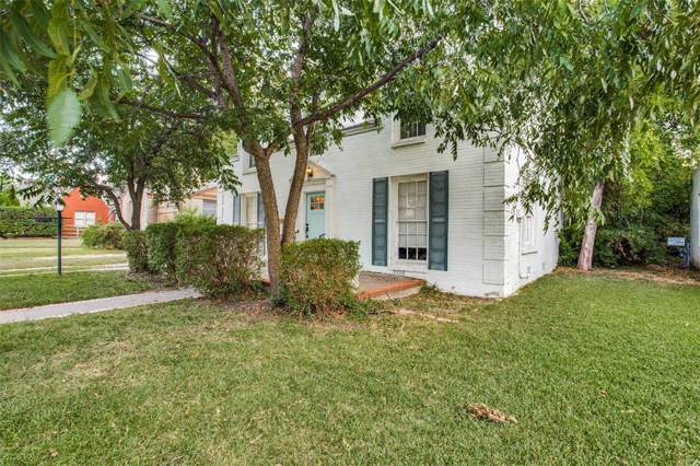 3244 Waits Avenue, Fort Worth, TX 76109 (MLS #14199109) :: The Mitchell Group
