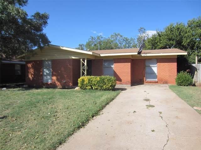 1410 Briarwood Street, Abilene, TX 79603 (MLS #14199530) :: Lynn Wilson with Keller Williams DFW/Southlake