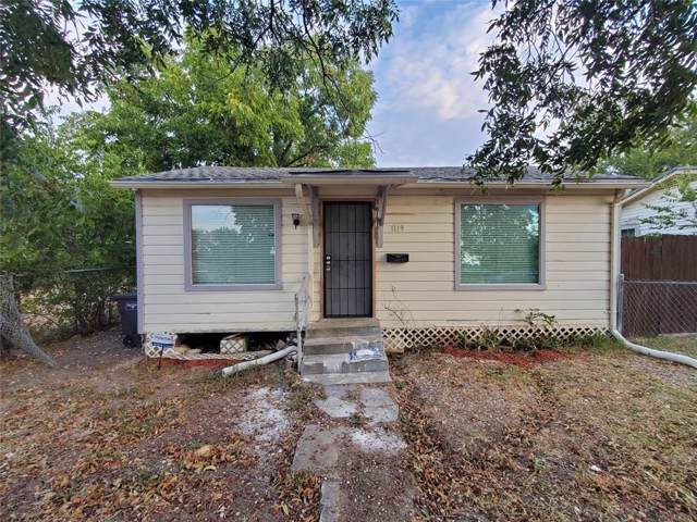 1119 E Cantey Street, Fort Worth, TX 76104 (MLS #14199549) :: North Texas Team | RE/MAX Lifestyle Property