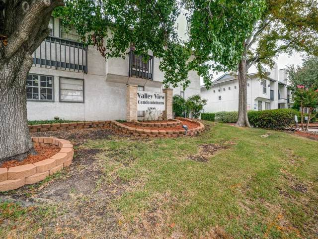 12888 Montfort Drive #205, Dallas, TX 75230 (MLS #14199574) :: Kimberly Davis & Associates