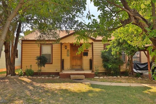 1318 Kirkwood Street, Abilene, TX 79603 (MLS #14199651) :: Lynn Wilson with Keller Williams DFW/Southlake