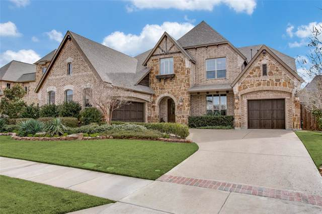 4015 Benchmark Lane, Frisco, TX 75034 (MLS #14199655) :: The Real Estate Station