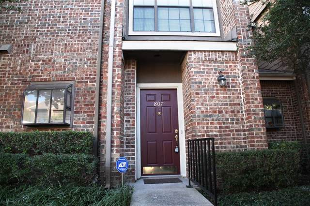 5859 Frankford Road #807, Dallas, TX 75252 (MLS #14199838) :: Hargrove Realty Group