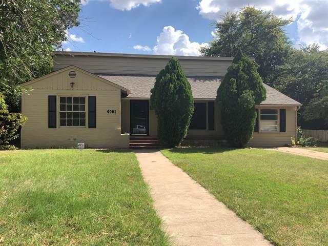 4061 Monticello Street, Abilene, TX 79605 (MLS #14199881) :: Lynn Wilson with Keller Williams DFW/Southlake