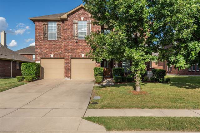743 Marina Vista Drive, Lewisville, TX 75056 (MLS #14199974) :: Team Hodnett