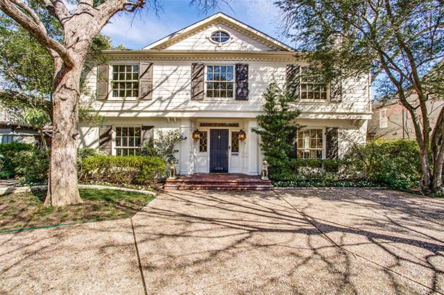 4308 Mcfarlin Boulevard, University Park, TX 75205 (MLS #14199983) :: Lynn Wilson with Keller Williams DFW/Southlake