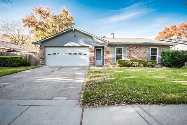 406 Parkvale Lane, Grand Prairie, TX 75052 (MLS #14199987) :: Lynn Wilson with Keller Williams DFW/Southlake