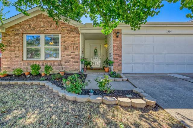 1554 Thornhill Lane, Little Elm, TX 75068 (MLS #14199990) :: The Chad Smith Team