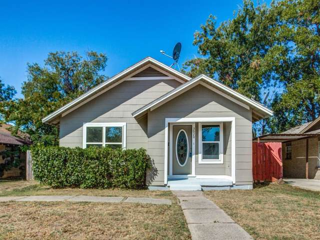 3020 James Avenue, Fort Worth, TX 76110 (MLS #14200110) :: HergGroup Dallas-Fort Worth