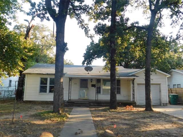 3720 Selma Street, Fort Worth, TX 76111 (MLS #14200174) :: Lynn Wilson with Keller Williams DFW/Southlake