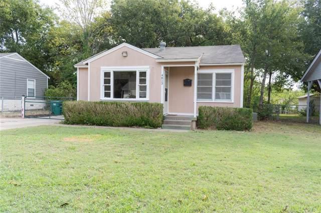 4813 Mayfair Street, Fort Worth, TX 76116 (MLS #14200405) :: Tenesha Lusk Realty Group