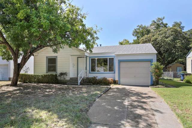 513 W Beach Street, Fort Worth, TX 76111 (MLS #14200447) :: Kimberly Davis & Associates