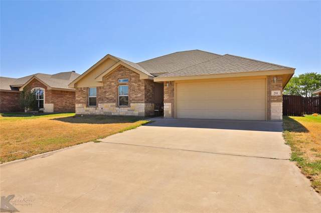 281 Miss Ellie Lane, Abilene, TX 79602 (MLS #14200648) :: Robbins Real Estate Group
