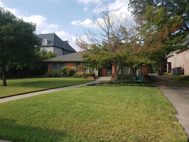 6621 Stichter Avenue, Dallas, TX 75230 (MLS #14200653) :: The Rhodes Team