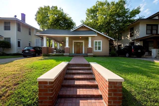 831 Haines Avenue, Dallas, TX 75208 (MLS #14200660) :: Van Poole Properties Group
