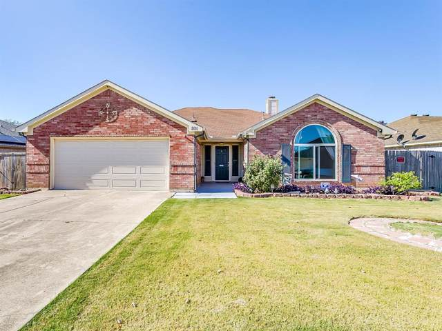 801 Amber Drive, Saginaw, TX 76179 (MLS #14202081) :: Lynn Wilson with Keller Williams DFW/Southlake