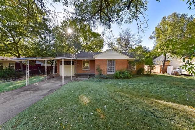 2610 Nicholson Drive, Dallas, TX 75224 (MLS #14202499) :: Vibrant Real Estate