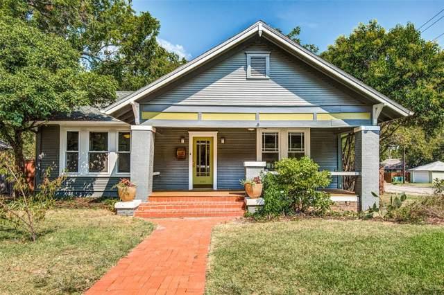 1102 W Congress Street, Denton, TX 76201 (MLS #14202526) :: Lynn Wilson with Keller Williams DFW/Southlake