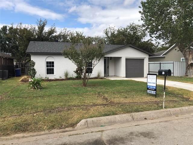 605 N Hansbarger Street, Everman, TX 76140 (MLS #14202545) :: Lynn Wilson with Keller Williams DFW/Southlake