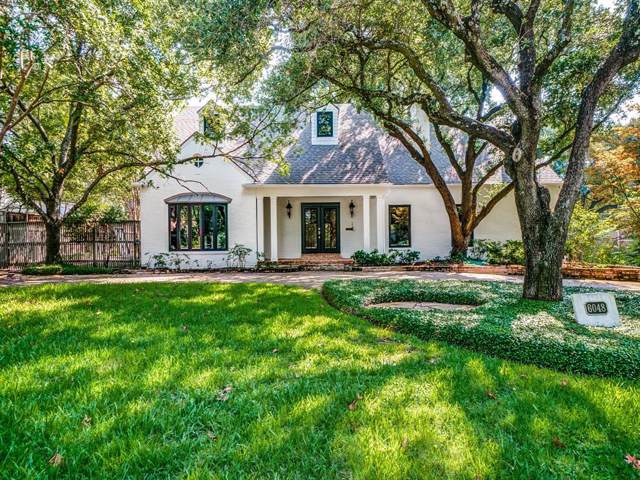 6048 Meadow Road, Dallas, TX 75230 (MLS #14202587) :: The Kimberly Davis Group
