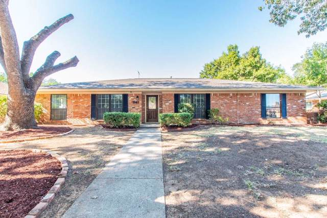 1141 Grove Drive, Lewisville, TX 75077 (MLS #14202617) :: Lynn Wilson with Keller Williams DFW/Southlake