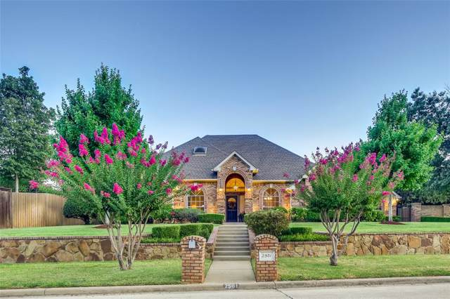 2501 Arbor Trail, Colleyville, TX 76034 (MLS #14202637) :: Lynn Wilson with Keller Williams DFW/Southlake