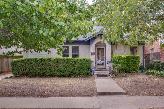 3921 W 5th Street, Fort Worth, TX 76107 (MLS #14202666) :: Lynn Wilson with Keller Williams DFW/Southlake