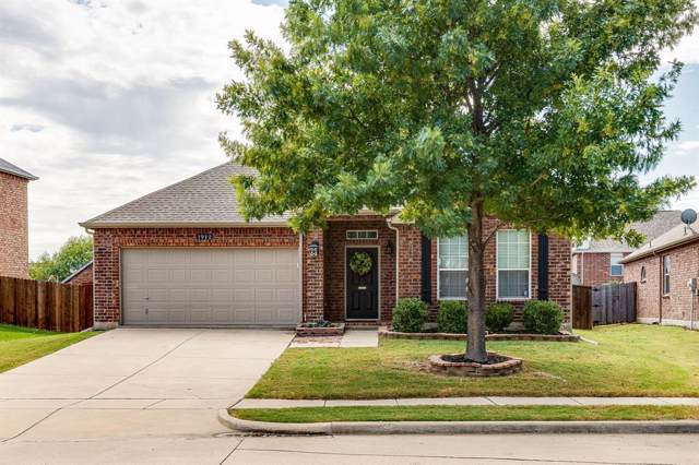 1912 Juniper Drive, Little Elm, TX 75068 (MLS #14202678) :: Lynn Wilson with Keller Williams DFW/Southlake